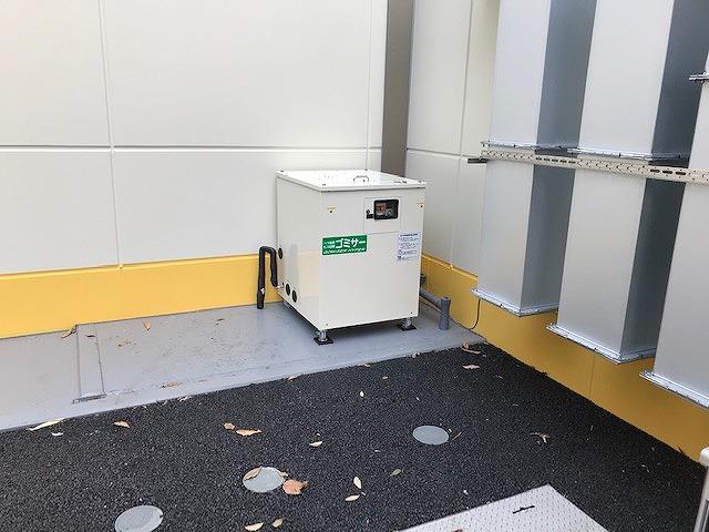 業務用生ごみ処理機ゴミサー設置しました/保育園